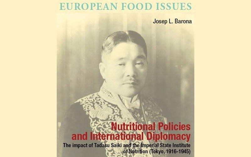 Nuevo libro Josep L. Barona Nutritional Policies and International Diplomacy