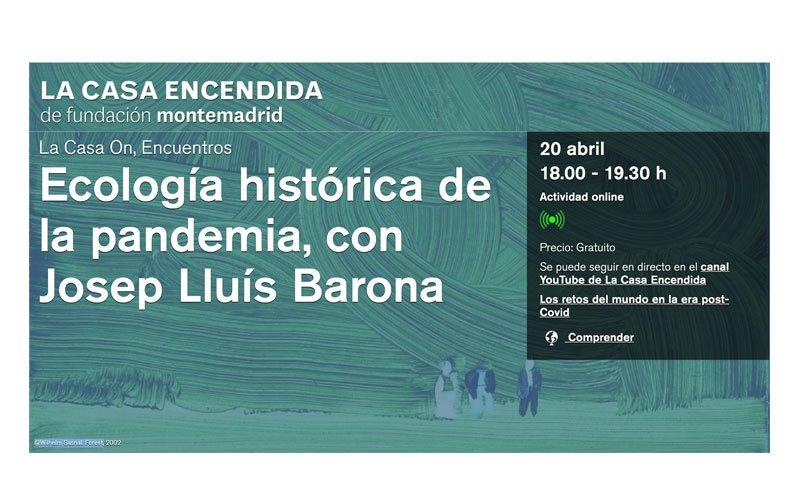 Conferencia-coloquio de Josep Lluis Barona